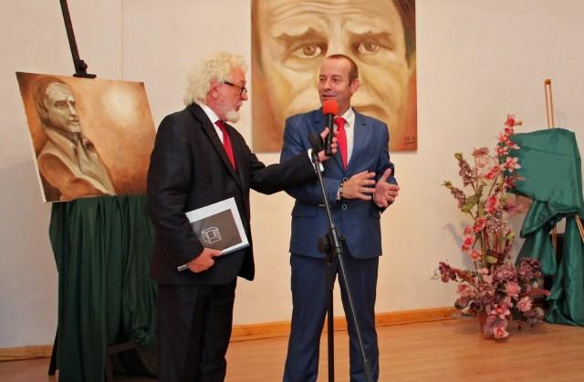 Niderlandzki malarz Marcel van de Kraats prezentował swoje prace m.in. w Galerii Oko/Ucho w Scenie na Piętrze