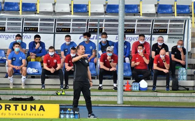 Trener Dariusz Marzec mógł być dumny ze swoich podopiecznych