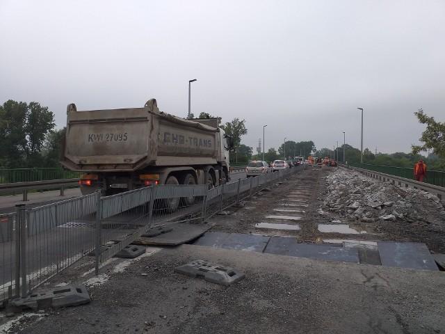 Trwa remont mostu nad Wisłą