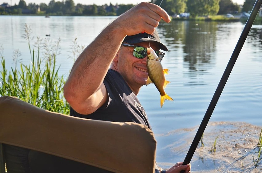 Jeden z wędkarzy złowił 40 kg ryb