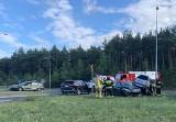 Zderzenie auta osobowego i małolitrażowego pojazdu na ul. Kostrzyńskiej w Zielonej Górze