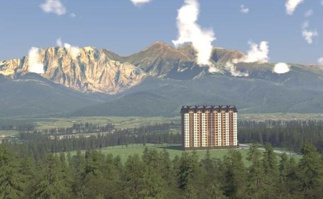 Wizualizacje Zakopane Mountain Resort