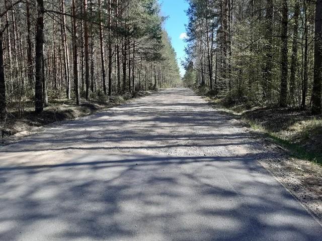 Droga powiatowa Nr 1448 B na odcinku Kuchmy – granica Gminy Michałowo