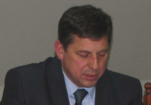 Andrzej Kurzątkowski, były burmistrz i były już przewodniczący Rady Powiatu w Piszu