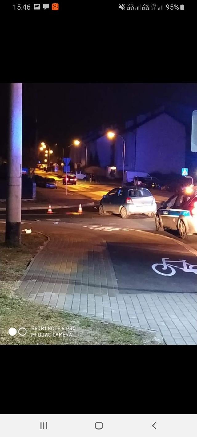 Mieszkańcy przekonują, że skrzyżowanie ul. Strzelniczej i Wywrockiego jest niebezpieczne.