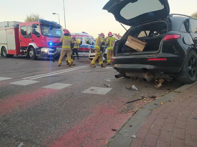 Wypadek na Kołłątaja w Białymstoku. Ucierpiało dziecko