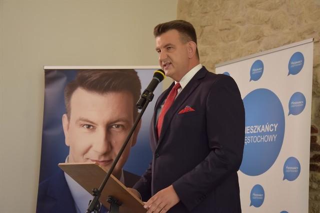 W Częstochowie wystartowała kampania wyborcza Marcina Marandy z Komitetu Wyborczego Wyborców Marcin Maranda