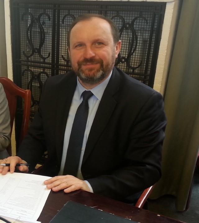 Skarbnik Krzysztof Mączkowski zaprezentował radnym sprawozdanie z realizacji budżetu Łodzi za 2017 rok