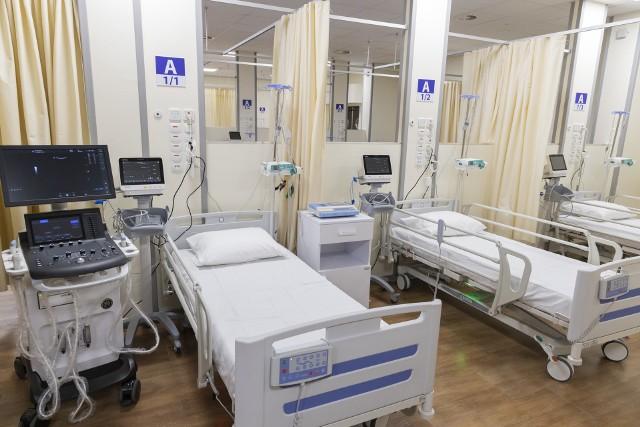 Szpital ma 60 miejsc respiratorowych