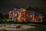 Niezwykły spektakl na fasadzie Teatru Słowackiego