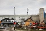 Kraków. Kolejarze zamkną przejazd ulicą Armii Krajowej. Rozbiorą stary wiadukt