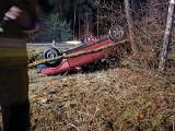 Wypadek w Opaleńcu, gm. Chorzele. Nie żyje 24-letni mężczyzna