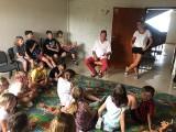 Niezwykły obóz muzyczno-językowy z artystami z regionu w Hucie Szklanej [ZDJĘCIA]