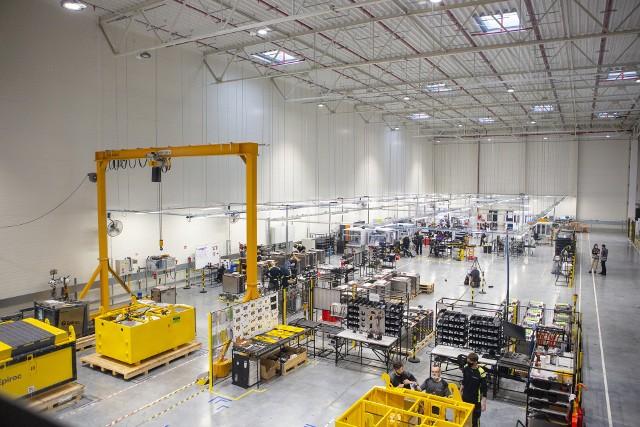 Fabryka powstająca w szwecji