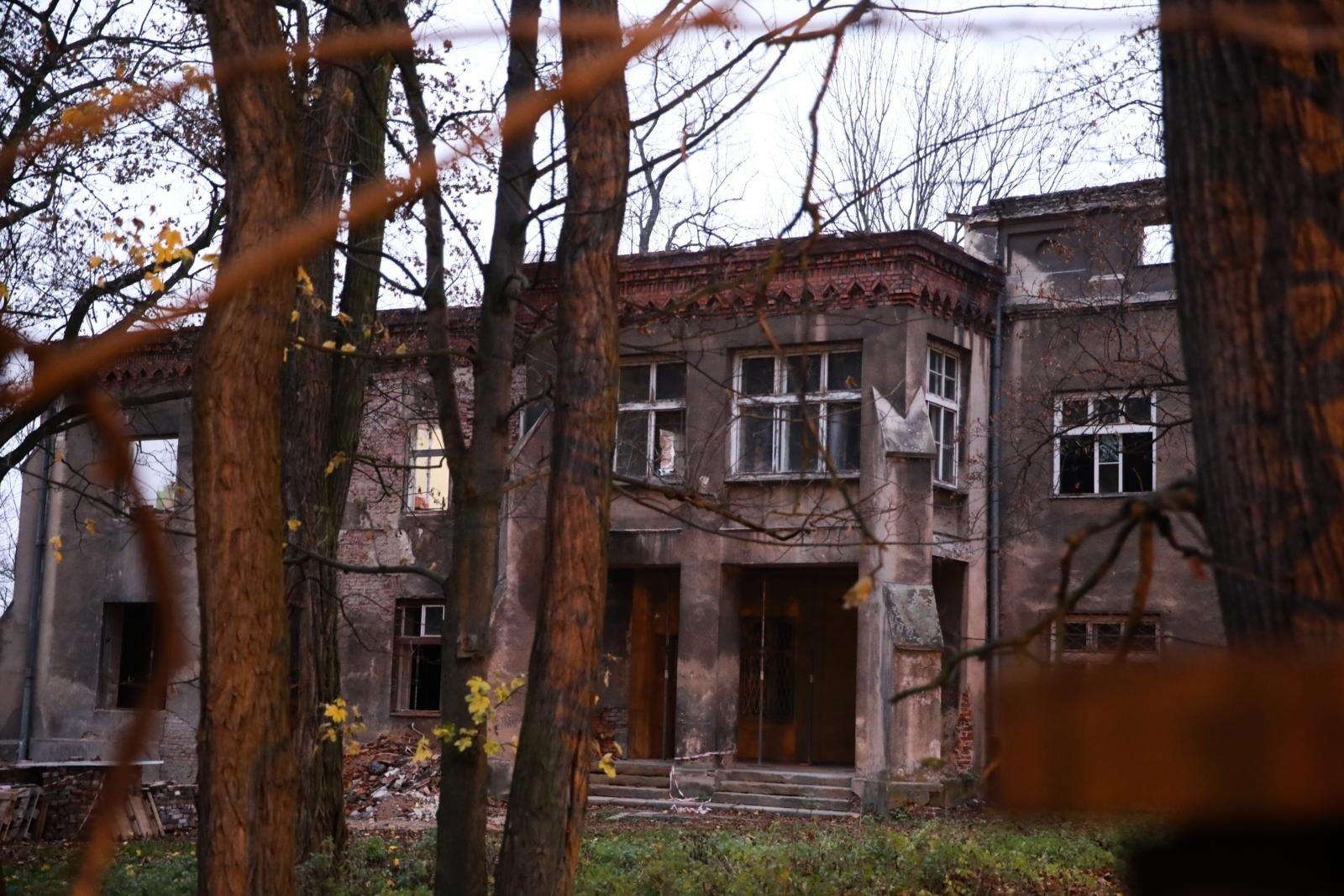 Krakow Rozbiorka W Zabytkowym Dworze Sluzby Konserwatorskie
