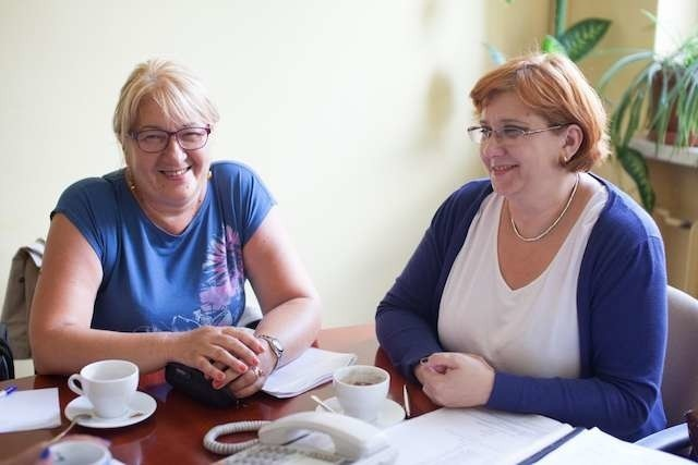 Z Czytelnikami rozmawiały panie Regina Siudzińska i Iwona Babińska z bydgoskiego oddziału ZUS