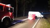 Śmiertelne potrącenie na DK 65 koło Grajewa. Fiat ducato potrącił mężczyznę [ZDJĘCIA]