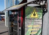 Automaty konopne w Szczecinie. Kontrowesje wokół jednego z nich przy szkole podstawowej. Zaniepokojeni rodzice interweniowali