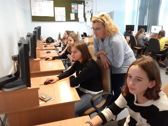 Junior Media w SP w Goworowie, 23.10.2019