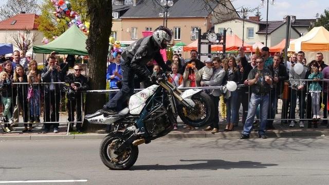 Pokazy zorganizowane w ramach Motoserca w Rypinie cieszyły się dużym zainteresowaniem