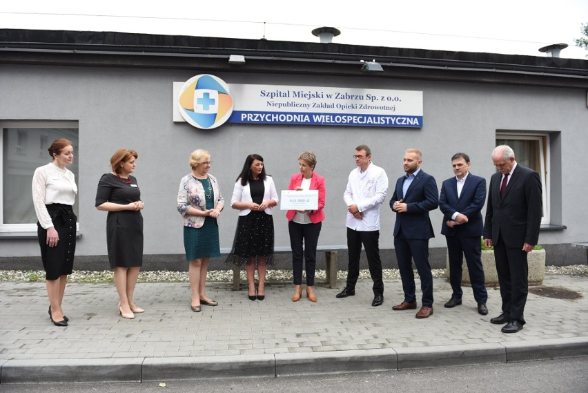 Szpital Miejski otrzymał pół miliona złotych dofinansowania...