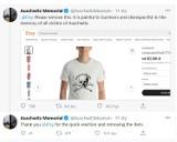 Te koszulki ranią ocalałych więźniów KL Auschwitz. Internetowy sklep usuwa kontrowersyjną odzież i przeprasza