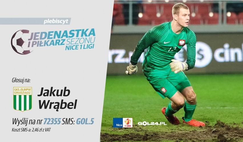 """Plebiscyt """"Jedenastka sezonu Nice 1 Ligi"""" - BRAMKARZ: Jakub Wrąbel [WYWIAD]"""