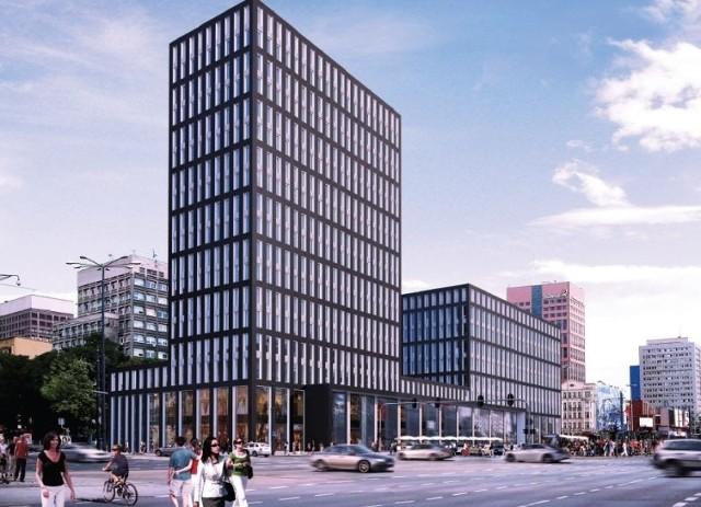 Tak według czwartej z kolei wizualizacji miał prezentować się hotel przy ul. Piotrkowskiej 155.fot. paweł łacheta (FOTO EKSKLUZYWNE: hilton nowy projekt)fot. (…) pano, pano1