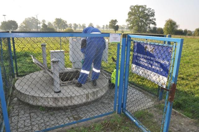 Czyszczenie kanalizacji w Mosinie.