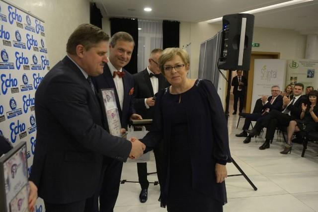 Grażyna Szafarowska, prezes  firmy Budopol Delta Sp.z o.o. w Radomiu zdobyła tytuł Kobiety Przedsiębiorczej 2018 w regionie radomskim.