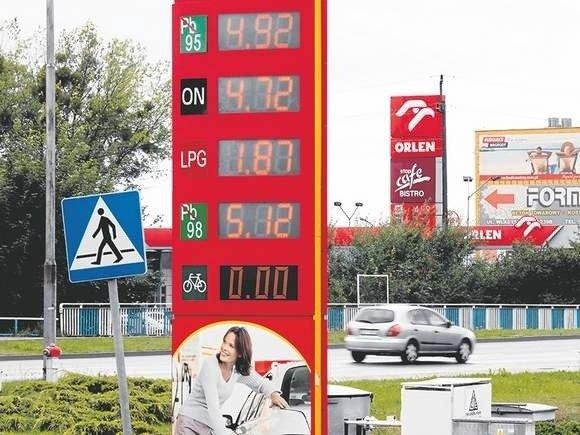 8e7c6a138f3938 Ceny paliw w Koszalinie spadają, litr znowu poniżej 5 zł | Głos Pomorza
