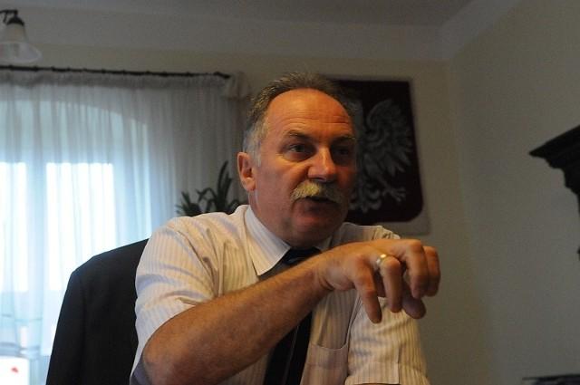 Burmistrz Sulechowa Roman Rakowski