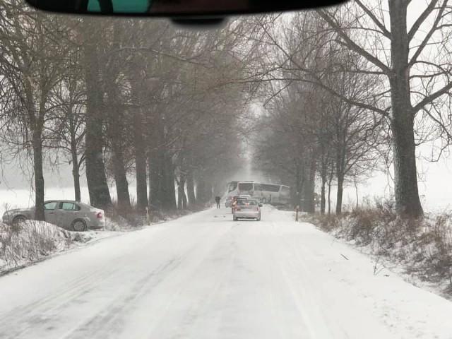 Droga wojewódzka nr 395 na odcinku Ziębice - Nowy Dwór tymczasowo zablokowana.