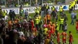 Skandal w Holandii. Kibice zaatakowali piłkarzy po barażu [WIDEO]