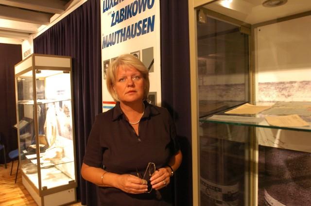 Anna Ziółkowska, dyrektor muzeum w Żabikowie