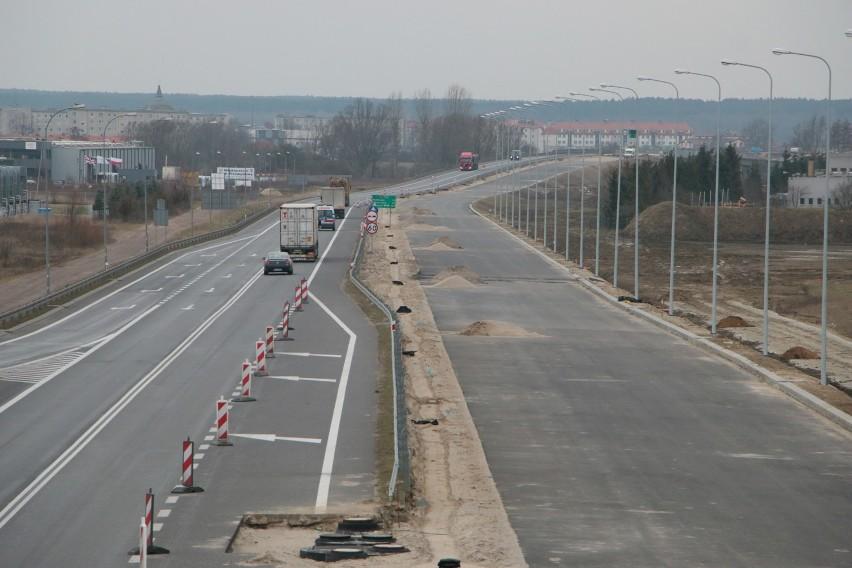 Trwa budowa drugiej nitki obwodnicy Gorzowa i Międzyrzecza....