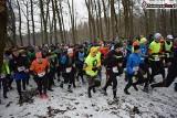 Bieg po Choinkę 2018 w Lublińcu. Wystartowało 350 osób, które pobiegły leśnymi duktami na 500, 1000 i 5000 m ZDJĘCIA