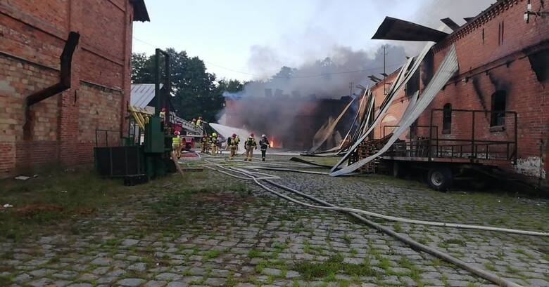 Śledztwo w sprawie pożaru w Lubuczewie. Poparzony Ukrainiec...