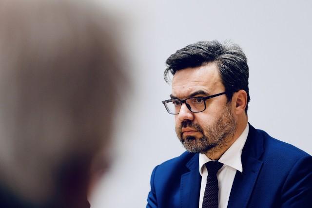 Tomasz Czop, dyrektor Wojewódzkiego Urzędu Pracy w Rzeszowie