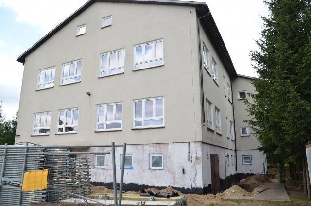 Termomodernizacja budynku szkoły w Kiełczewie