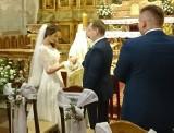 Adam Andruszkiewicz wziął ślub. Minister cyfryzacji ożenił się z Kamilą w kościele św. Anny w Warszawie (18.11.2019)