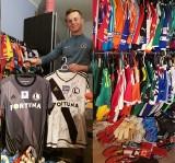 Piłkarska pasja. Tymek zbiera koszulki prosto od piłkarzy [GALERIA]