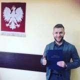 Kuba Błaszczykowski obronił licencjat w Częstochowie. Temat: zmiana masy piłkarza