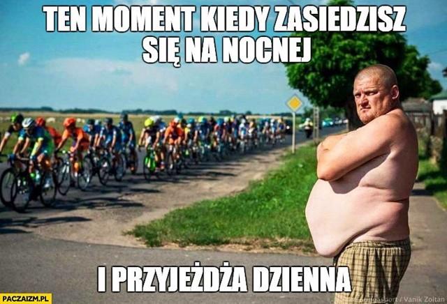 77. Tour de Pologne inspiruje. Zobacz memy kolarstwie.Zobacz kolejne zdjęcia. Przesuwaj zdjęcia w prawo - naciśnij strzałkę lub przycisk NASTĘPNE