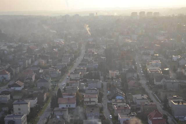 Smog nad regionem znów da się we znaki