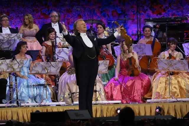 André Rieu i jego Orkiestra Johanna Straussa to największa prywatna orkiestra na świecie