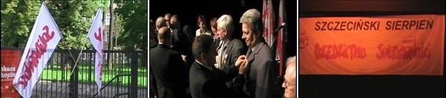 Kilkadziesiąt osób za swoją działalność opozycyjną, związkową i wkład w rozwój województwa otrzymało odznaki Gryfa Zachodniopomorskiego
