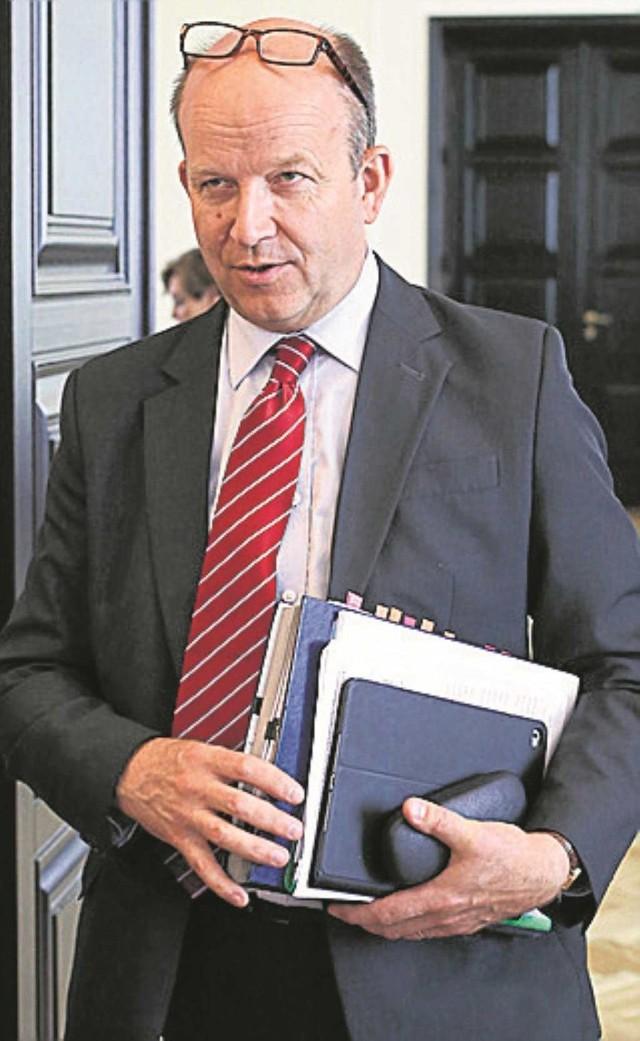 Minister Konstanty Radziwiłł rozczarował związkowców