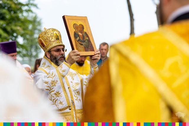 Uroczystości ku czci świętych apostołów Piotra i Pawła w Samogródzie. Liturgii przewodniczył Abp Białostocki i Gdański Jakub