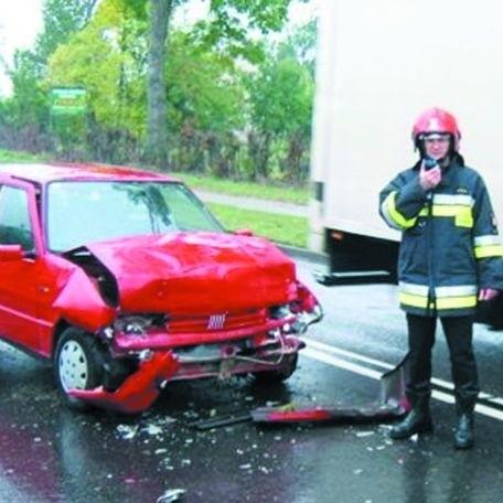 Podczas wypadku z 30 września, który miał miejsce w Mieczach, ucierpiały cztery osoby